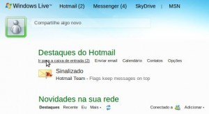Hotmail/Windows Live -> Junk/Lixo Eletrônico