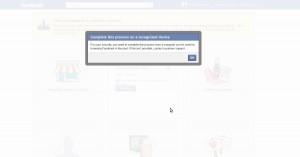 Erro durante a migração de um Perfil para uma Página