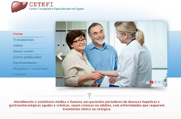 Novo website do CETEFI